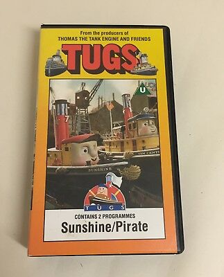 Tugs Vhs Video Tape Sunshine Pirate From The on Tank Engine Vhs Ebay