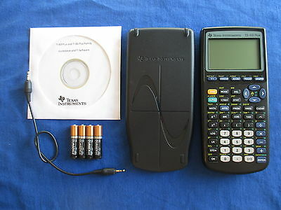 Refurbished TI-83 Plus Graphing Calculator Texas Instruments Graphic TI83