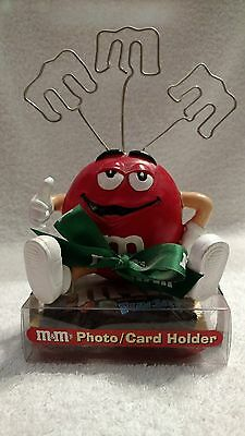 M&M's Red Photo/Card Holder