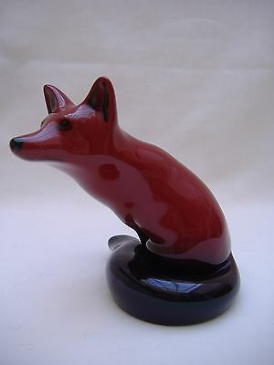 Royal Doulton Flambe Fox Mint Condition