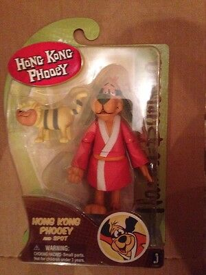 "Hanna Barbera Hong Kong Phooey 6""  Action Figure New"