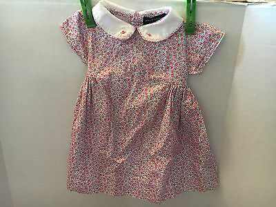 Little Girls Ralph Lauren Polo Floral Dress 3/6 M