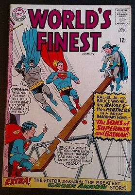 World's Finest Comics #154 (Dec 1965, DC) 3.0 GD/VG BATMAN, SUPERMAN *PRICE CUT*