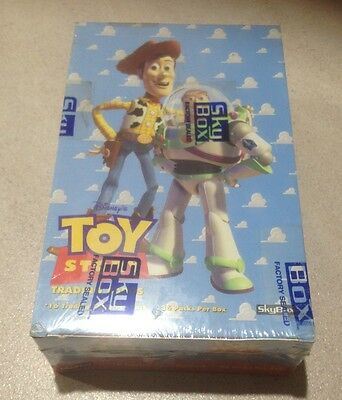 "1995 Skybox ""Toy Story"" - Factory Sealed Box - 36 Packs"