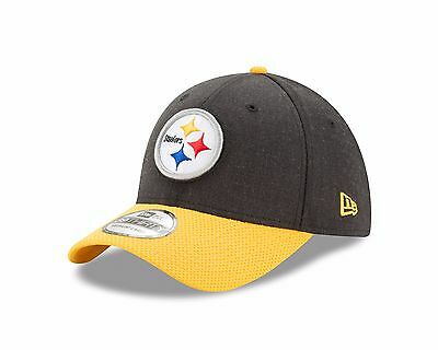 933d2a37 Pittsburgh Steelers New Era Black/Gold Change up Redux 39THIRTY Flex Fit Hat
