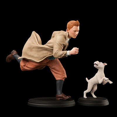 Tintin and Snowy 1:6 Scale Statue - Weta - Out of Print - RARE