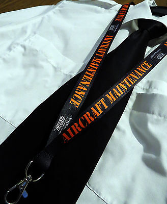 AIRCRAFT MECHANIC maintenance technician engineer keychain neckstrap Lanyard