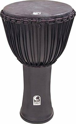 Toca TO803223 - Djembe Freestyle Black Mamba, con funda, 14