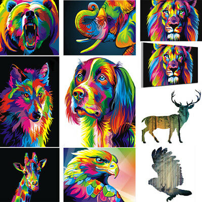 HD Canvas Print Home Decor Wall Adornment Art Painting Picture Decor-Wolf/Bear
