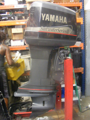 "1998 Yamaha 250 Outboard Saltwater OX66 Shaft 25"" RH Engine Motor Less 300Hours"
