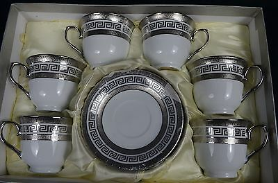 Porcelain Set Of Six 220ccTea Cup And Saucer