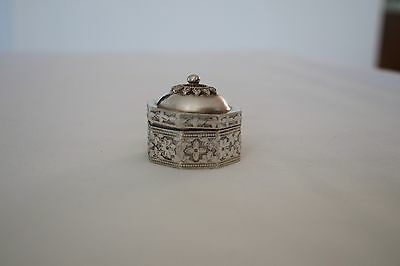 Sterling Silver Box pill box