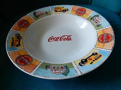 """Coca-Cola Gibson Good Ole Old Days Soup Bowl 9"""""""