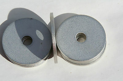 """10 Pieces   1/2  X 2"""" X .125 Thk   Stainless Steel Extra Thick Flat Washers"""