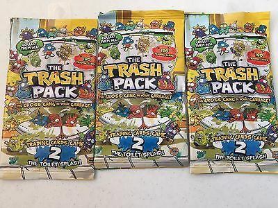 3X The Trash Pack Cards - Trading Cards New Sealed