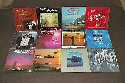 ALAIN MORISOD & SWEET PEOPLE 12 LP RECORD ALBUMS LOT COLLECTION Lake Como/Perce+