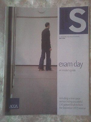 ACCA Accounting Accounts S Student Accountant Magazine May 2004 Exam Day L@@K