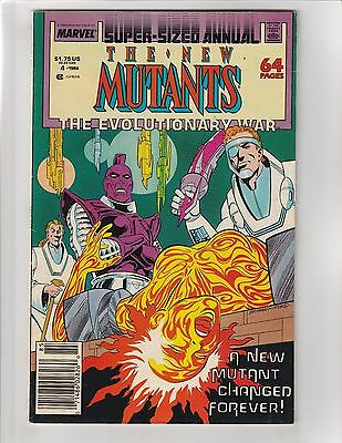 New Mutants Annual #4 1988  The Evolutionary War