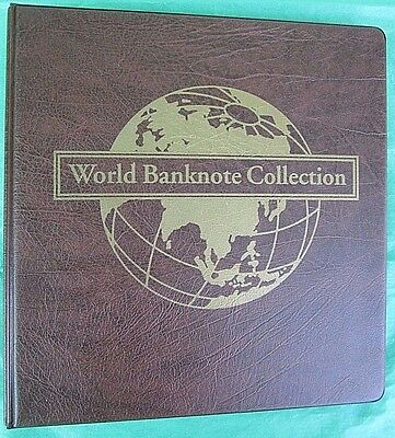 Worldwide  Banknote  Collection   74 Notes  In  Mystic  Album