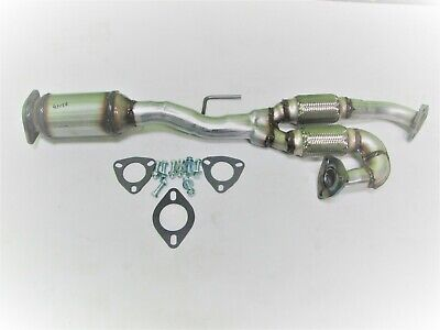 Fits: 2005 2006 Nissan Quest Rear Catalytic Converter W/ Y-Pipe