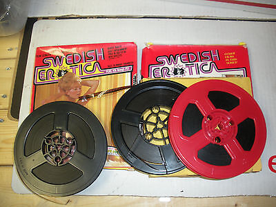 5 Vintage Adult Stag 8mm Film Lot 2 swedish erotica 3 unmarked or labeled