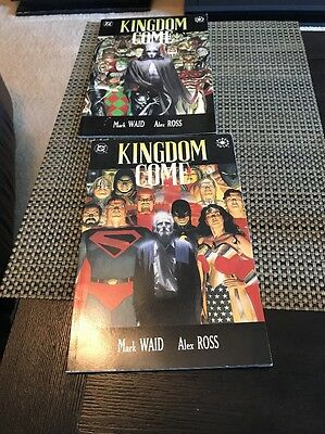 Kingdom Come 1 & 2  Justice League by Mark Waid & Alex Ross  1996 VF/NM