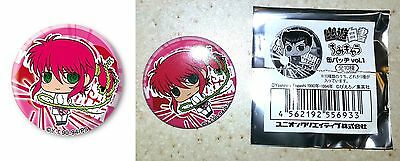 Yu Yu Hakusho Chimi Chara Trading Can Badge Vol 1 Kurama Ponytail Licensed New
