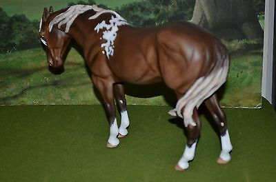 "custom Breyer or Stone Horse ""Star"" L@@K!!"