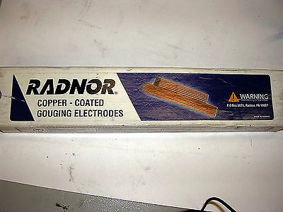 "Arcair Weldmark WMK22063003 Copper Coated Gouging Carbons 3//8x12/"" Type DCCC 50"