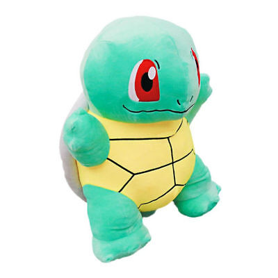 """New 18"""" Doll Giant SQUIRTLE Pokemon Stuffed Soft Plush Toy Figure Pillow Gift"""