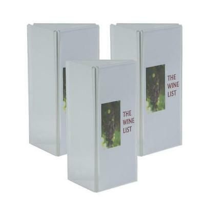10 x 3 Panel Acrylic Menu Stand, DL, Restaurant / Cafe / Bar / Wine List / Menus