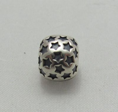 NEW AUTHENTIC Pandora ALE Sterling Silver Jewelry Star Clip Charm 790851
