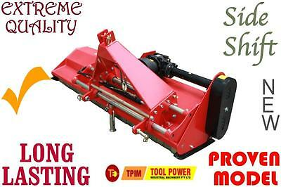 TRACTOR Flail Mower 1965mm, 384kg, FREE CLUTCH + PTO, H-Cutters