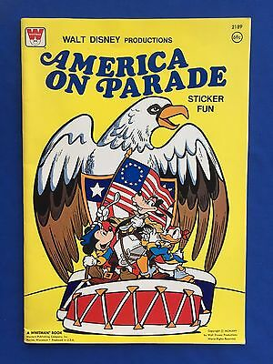 1975 Walt Disney's America On Parade] by Whitman 16-pages Unused