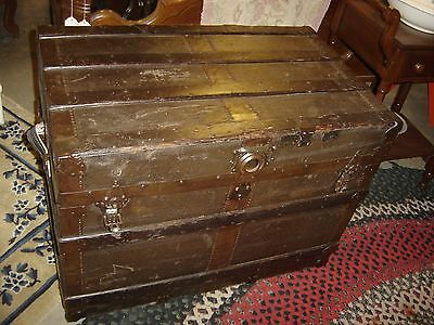 Antique Trunk by Duluth Trunk Factory .    7576
