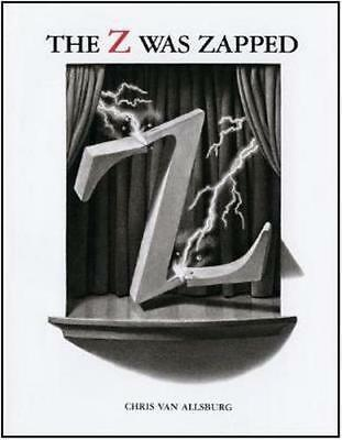NEW Z Was Zapped By VAN ALLSBURG CHRIS Hardcover Free Shipping