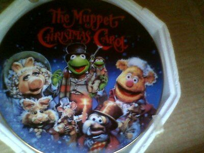 the muppet christmas carol plate by grolier limited to 15 firing days, rare