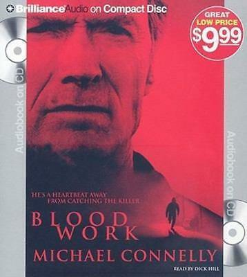 NEW Blood Work By Michael Connelly Audio CD Free Shipping