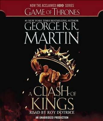 NEW A Clash of Kings By George R R Martin Audio CD Free Shipping