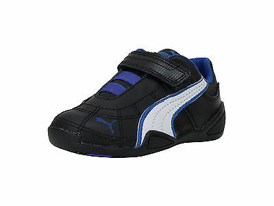 Puma Infants Babies Toddlers Kids Shoes Tune Cat B 2 V Strap Black Blue  White a16ead91e