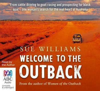 NEW Welcome to the Outback By Sue Williams Audio CD Free Shipping