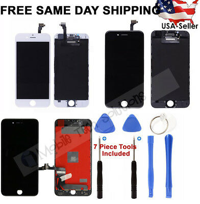 iPhone 6s 6 Plus 7 Replacement Screen LCD Digitizer Assembly White Black