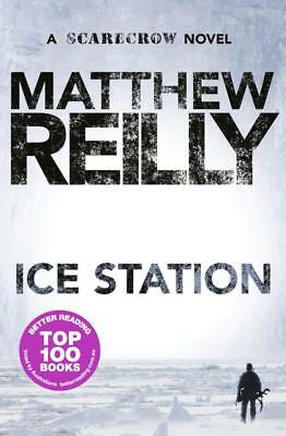 NEW Ice Station By Matthew Reilly Paperback Free Shipping