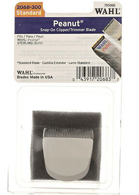 Wahl 2068-300 Standard Peanut Replacement Clipper/Trimmer Blade Snap-On
