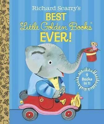 NEW Richard Scarry's Best Little Golden Books Ever! By Patsy Scarry Hardcover