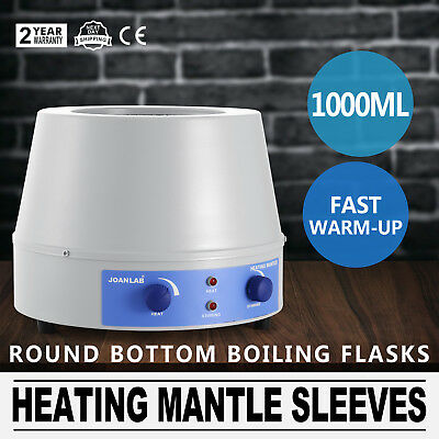 1000Ml Heating Mantle Sleeves Instant1400Rpm Heating Speed Control Electric 220V