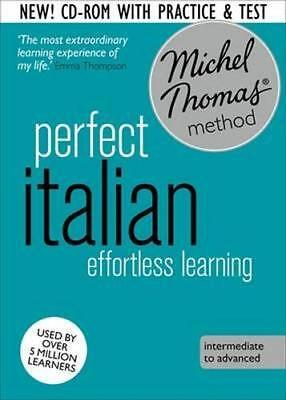 NEW Perfect Italian By Michel Thomas Audio CD Free Shipping