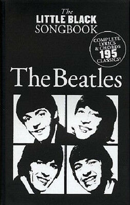 The Little Black Song Book The Beatles 195 Songs Songbook For Guitar