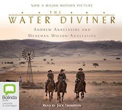 NEW The Water Diviner By Andrew Anastasios Audio CD Free Shipping