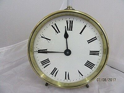 French Brass Drum Case Carriage Clock
